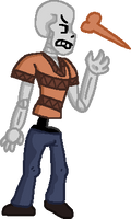 Despondence Papyrus bouncy pagedoll (F2U) by W00FSICLE