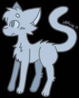 F2U Kitty Lineart! (NOT MSPAINT FRIENDLY) by W00FSICLE