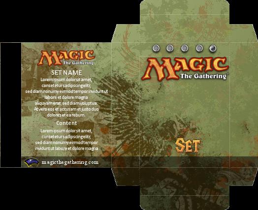 Magic Card Box Template 28 Images 60 Card Deck Box