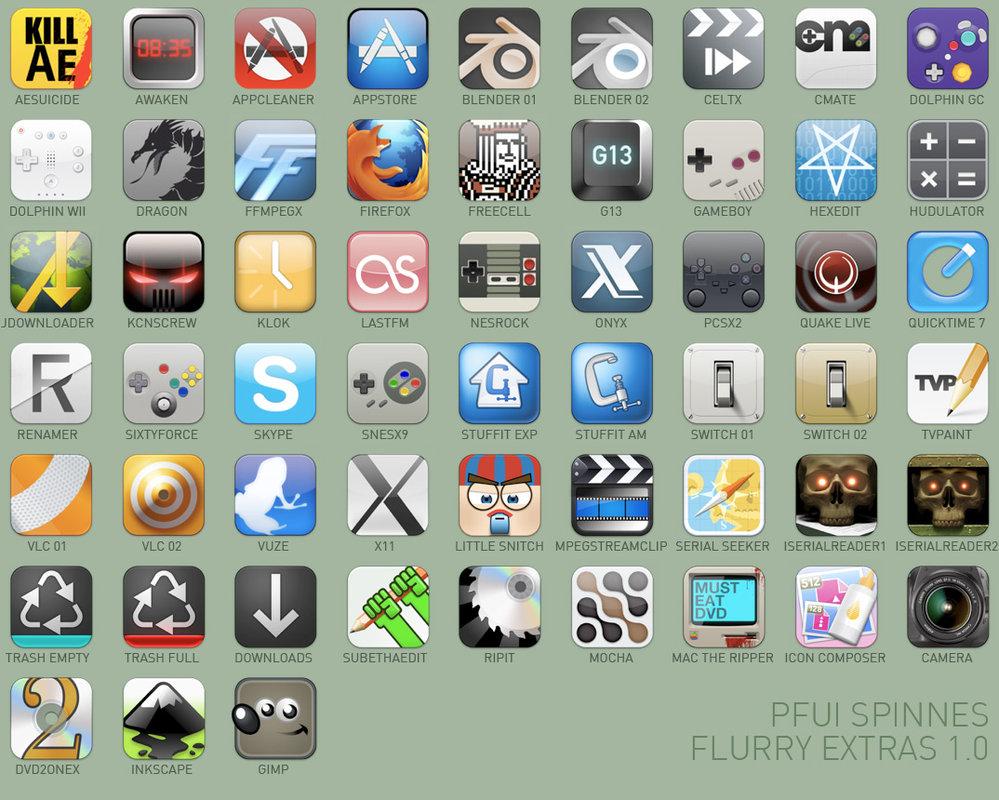 Pfui Spinnes Flurry Extras 01