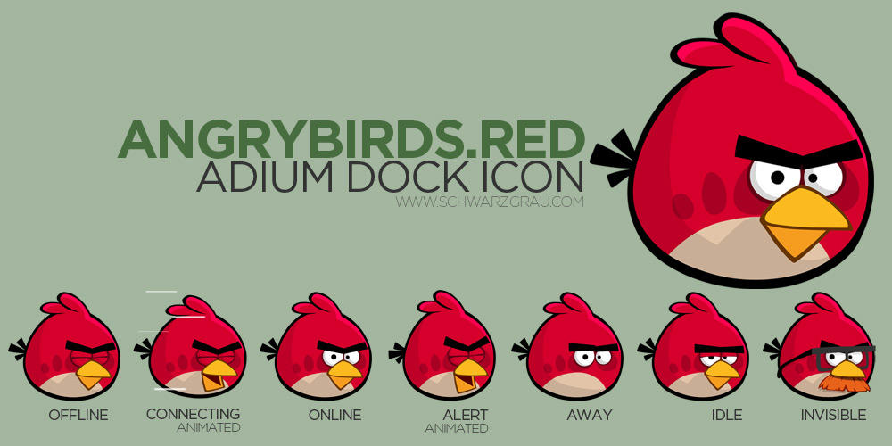 angry birds red bird sprites 56924 loadtve. Black Bedroom Furniture Sets. Home Design Ideas