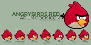 AngryBirds RedBird Adium Icon