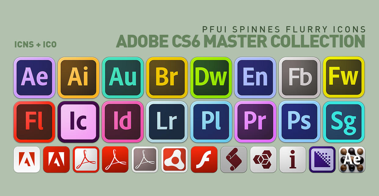 Adobe icons for windows and mac h33t tipsxplore