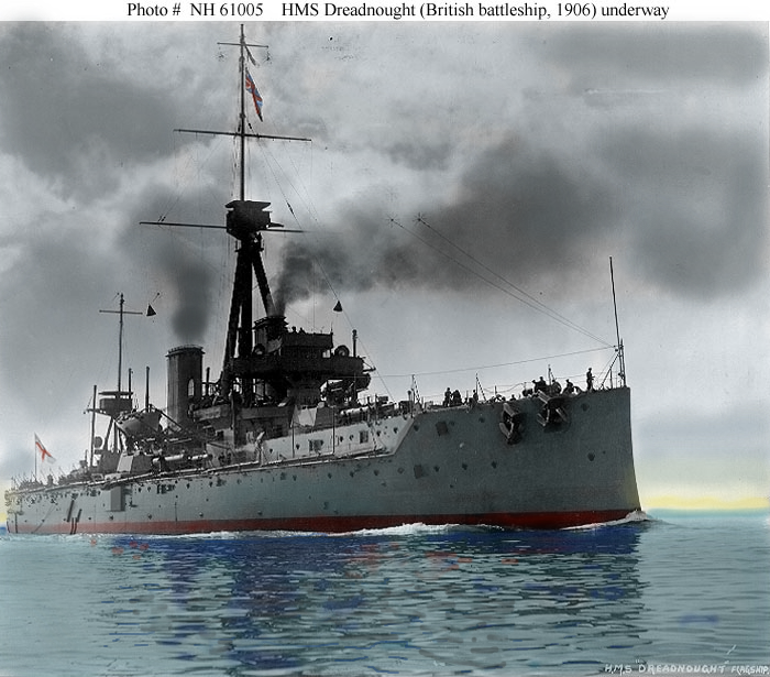 Rms Olympic: H.M.S DREADNOUGHT~ By RMS-OLYMPIC On DeviantArt