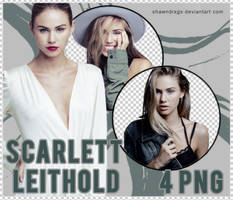 Scarlett Leithold Png Pack by Shawndrxgs