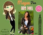 Megan Fox - Transformers Doll
