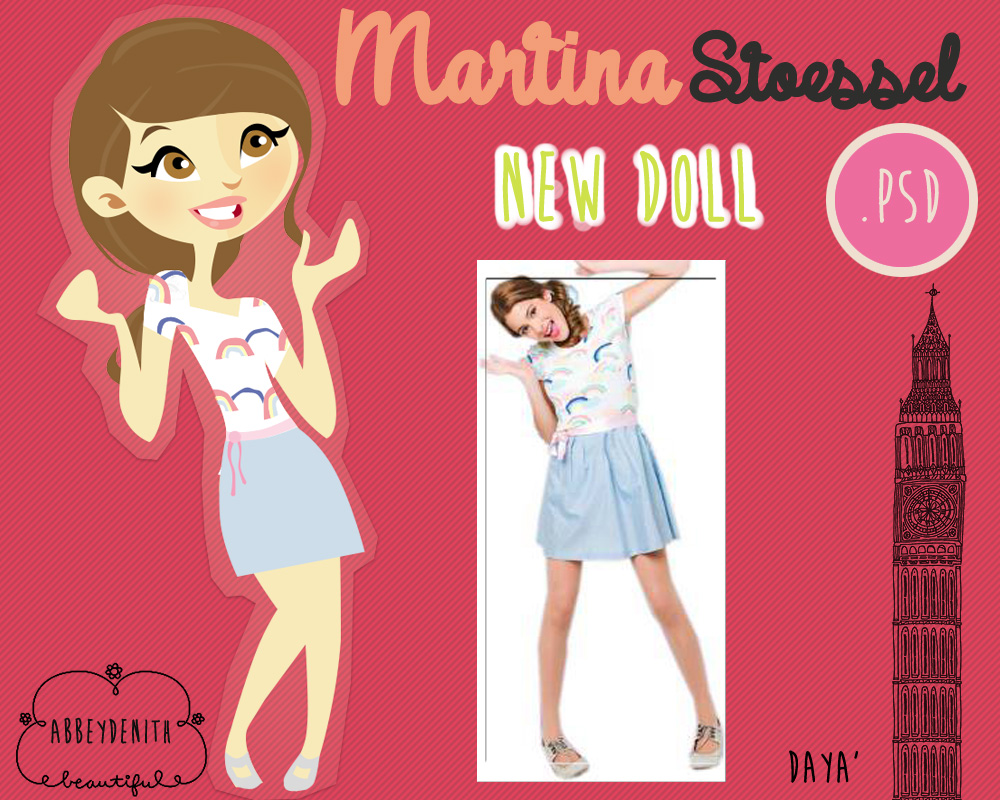 Martina Stoessel DOLL 2 by AbbeyDenith