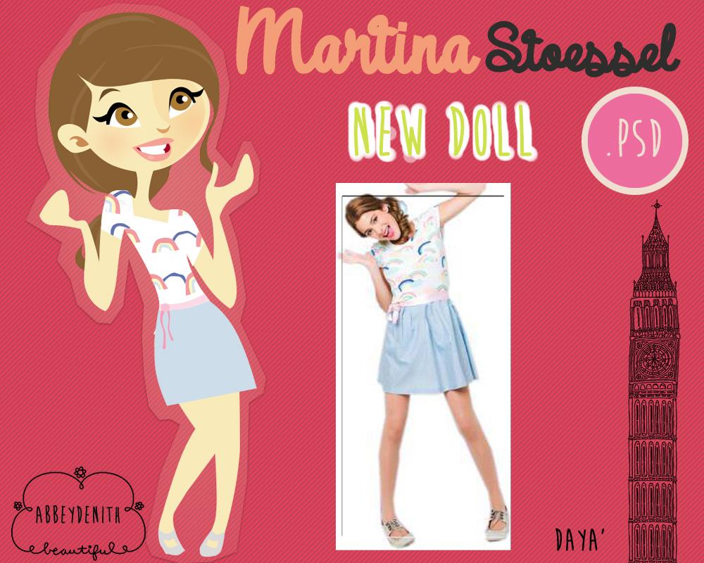Martina Stoessel DOLL 2 by AbbeyDenith