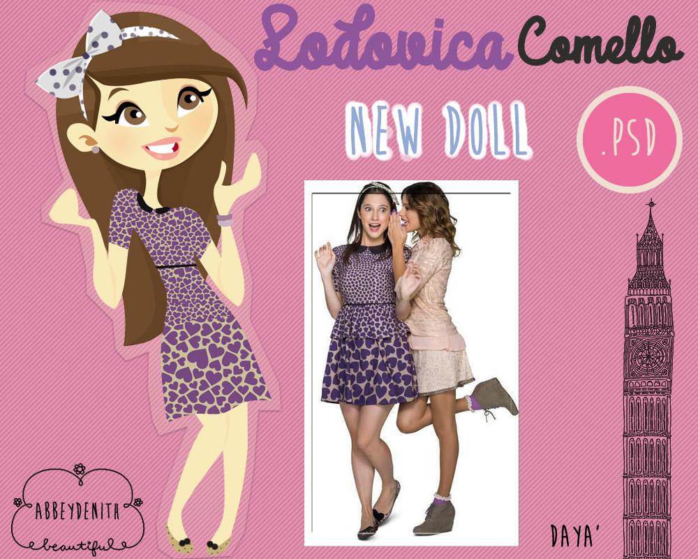 Lodovica Comello Doll - Fransesca (Violetta) by AbbeyDenith