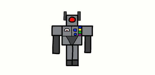 Minecraft Mob Robot by Jesse220