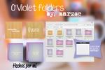 Iconpackager Folders O'Violet