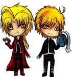 Ed and Alphonse