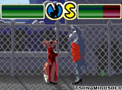 [Beastars] Back Alley Boob Fight