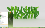 Clean Green Windows 7 Theme