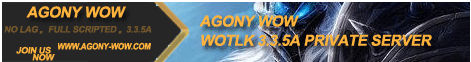Old Agony WoW Banner