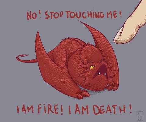 Smaug - Stop touching me !