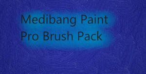 Medibang Paint Pro Brush Pack
