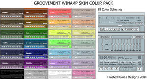 Groovement Color Pack
