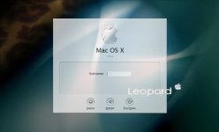 Mac4Lin ver0.4 GDM Login Theme by infra-red-dude