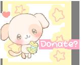 .:Donate puppy button:. by Chipi-Chiu