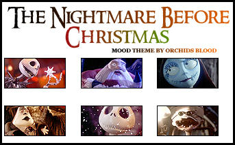Nightmare Mood Theme by orchidsblood