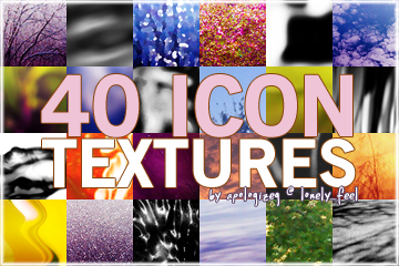 40 icon textues by iksh
