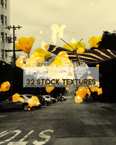 32 stock textures by iksh