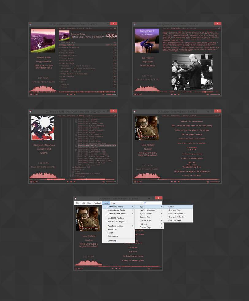Foobar Nightlife2 Mod by Hyu v1.1 by celroid