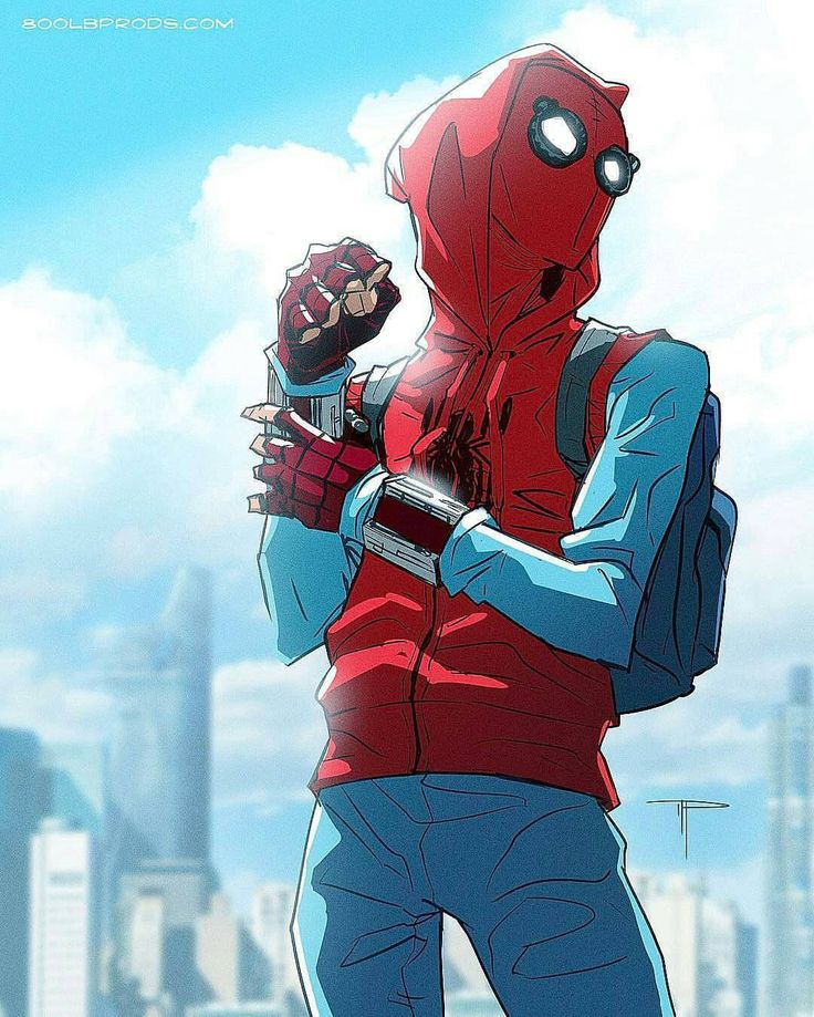 Spider man male reader x ruby pt 1 by imdishonorable on deviantart - Dessins animes spiderman ...