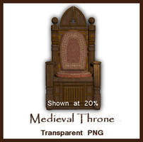 Medieval Throne by kimber-shd