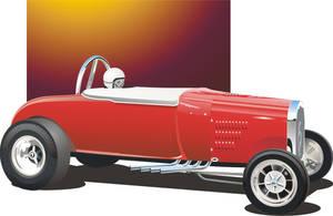 Vintage Drag Car by Rikko40