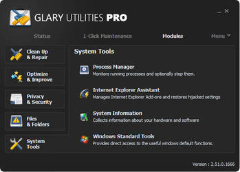 Glary Utilities Metro Skin by RamonXick
