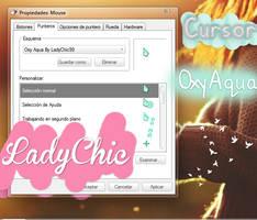 Cursor Oxy Aqua by LadyChic99