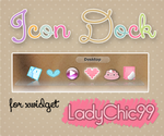 Icon Dock for xwidget