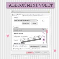 Cursor albook mini violet by LadyChic99 by LadyChic99