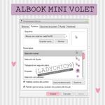 Cursor albook mini violet by LadyChic99