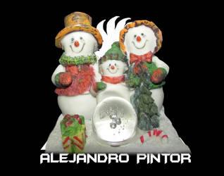 nieve by Alexpintor