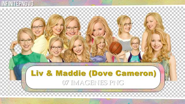 Pack de Liv y Maddie (Dove Cameron) by INFINITEPNGvg
