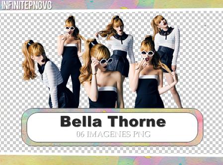 Pack de Bella Thorne PNG - INFINITE PNG - -Vg by INFINITEPNGvg