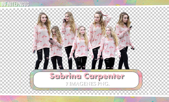 Pack Png de Sabrina Carpenter by INFINITEPNGvg