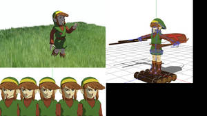 MMD Classic Link model download by artinkers
