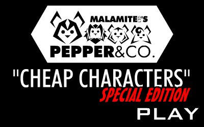 'Cheap Characters' Special