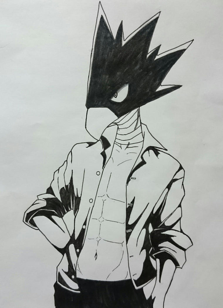 Mating Dance (Tokoyami Fumikage x Reader) by LordSister on