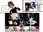 MMD The Hedgehogs poses DL