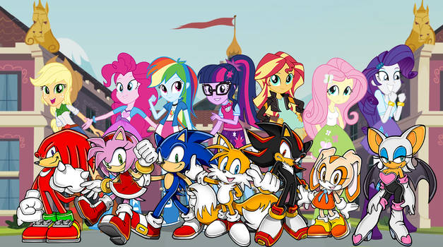 Sonic and Equestria Girls