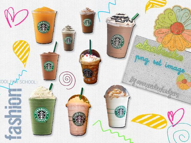 StarbucksCoffes..png's by AmazeedVeeHudgens