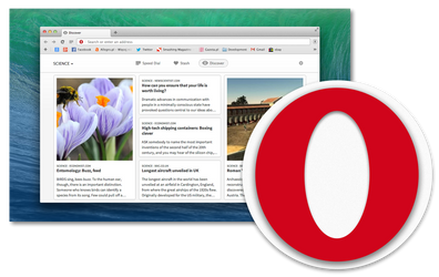 Opera icon for OS X Yosemite by Aviatorgamer