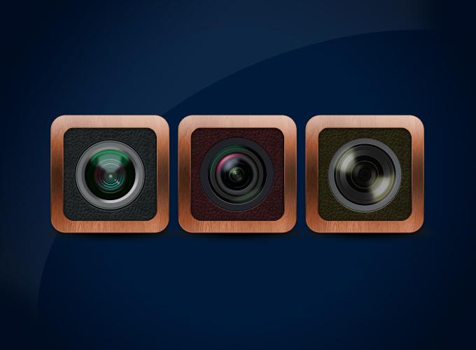 Lens icon by kazu3106