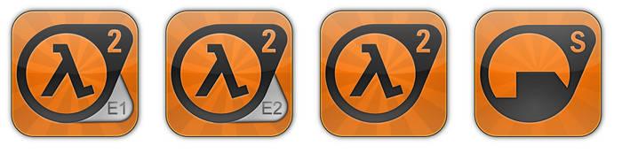 Half-Life 2 Collection Icons... by smoke999