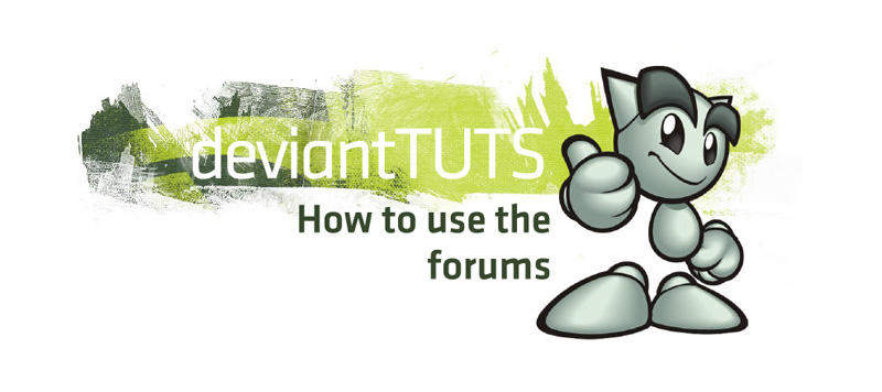 How to use the forums by 3wyl